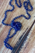 "60"" CRYSTAL BEAD NECKLACE #SM1001-03-AB-ROYAL $3.75"