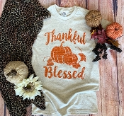 THANKFUL AND BLESSED TSHIRT 8PK $48