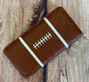 FOOTBALL ZIPPER WALLET #MB0081