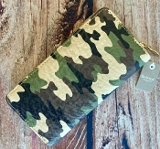 CAMO ZIPPER WALLET #MB0077
