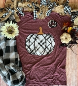 CUTEST PUMPKIN IN THE PATCH - WINE  TSHIRT 8PK $60