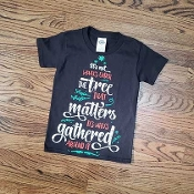KIDS SIZE UNDER THE TREE TSHIRT 8PK $48