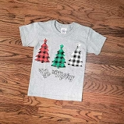 KIDS SIZE BE MERRY TSHIRT 8PK $48