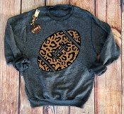 INSIDE OUT LEOPARD FOOTBALL SWEATSHIRT 6PK $99