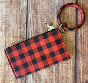 RING WRIST-LET BUFFALO PLAID #BB377X231