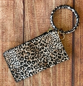 RING WRIST-LET WHITE LEOPARD #BB377X225
