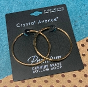 GOLD ETERNITY HOOP #26624-040-G