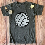 DISTRESSED VOLLEYBALL VNECK TSHIRTS 8PK $60