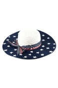 AMERICAN FLAG FLOPPY HAT #MH0026WHITE $8.50