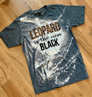 BLEACHED LEOPARD IS THE NEW BLACK 8PK $80