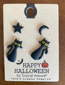 WITCHES BREW POST EARRING SET #26243H-JT $3.00