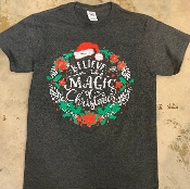 MAGIC OF CHRISTMAS SHIRT 8PK $48
