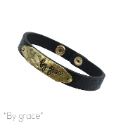 BY GRACE LEATHER MAGNETIC BRACELET # 83910JT-WG $3.00